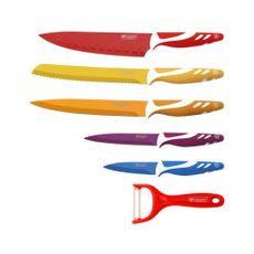 Set-de-cuchillos-de-colores-con-mango-negro-6-piezas-Blaumann