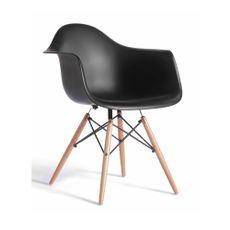 Silla-Poltrona-patas-de-madera-color-negra-EAMES-Harmony--1-2438