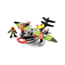 Fisher-Price-Imaginext-Super-Avion-Heroes-Del-Aire-Mattel-1-3851