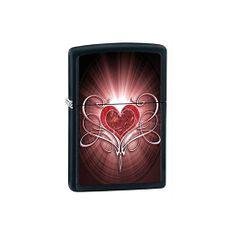 Encendedor-Red-Heart-Black-Matte-Zippo-1-3855