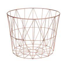 Canasta-de-metal-37cm-cobre-Koopman-1-4587