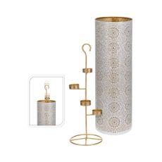 Conjunto-candelabro-Portavela-49cm-Blanco-Oro-Koopman-1-4592