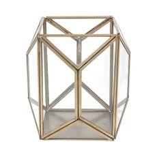 Linterna-farol-16cm-geometrico-color-oro-Koopman-1-4595