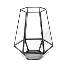 Linterna-farol-hexagonal-25cm-color-negro-Koopman-1-4601