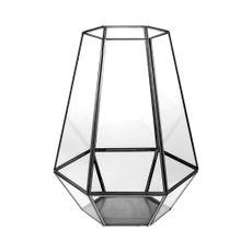 Linterna-farol-hexagonal-30cm-color-negro-Koopman-1-4602