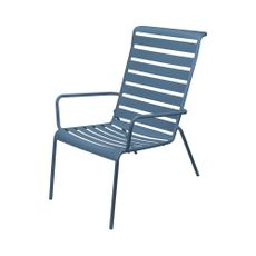 Silla-de-acero-reclinada-color-azul-1-4686