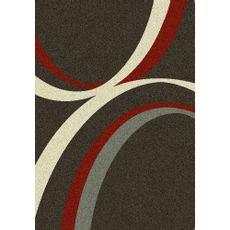 Alfombra-Picasso-gris-rojo-plomo-lineas-circulares-160x230-cm-Balta-1-5260