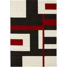 Alfombra-Picasso-lineas-geometricas-negro-beige-rojo-120x170-cm-Balta-1-5295