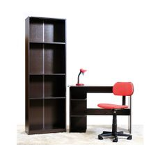 Combo-escolar-Escritorio---Biblioteca---Lampara---Silla-color-rojo-1-6395