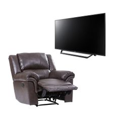 Combo-televisor-40---Full-HD-KDL-40W655D---Sofa-reclinable-ANTALIO-color-Cafe-1-8011
