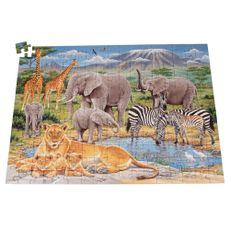 Rompecabezas-de-diseño-animales-en-africa-Ravensburger