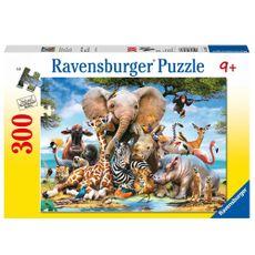 Rompecabezas-300-piezas-amigos-africanos-Ravensburger