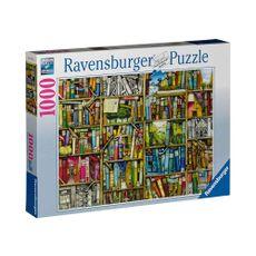 Rompecabezas-1000-Piezas-La-libreria-bizarra-Ravensburger-1-4089