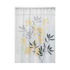 Cortina-de-ducha-hojas-Amarillas-Gris-Inter-Design-1-4426