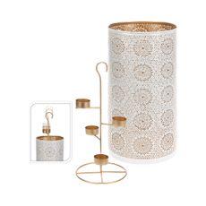 Conjunto-candelabro-Portavela-35cm-Blanco-Cobre-Koopman-1-4593