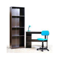 Combo-escolar-Escritorio---Biblioteca---Lampara---Silla-color-turquesa-1-6398