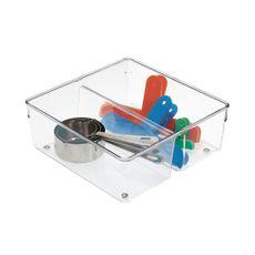 Organizador-para-cajon-con-dos-gavetas-transparente-Inter-Design-1-7671