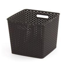 Cesta-de-almacenamiento-color-Chocolate-30-litros-Curver-1-8001