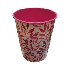 Papelera-decorativa-5L-color-Rosado-primavera-Rimax-1-8750
