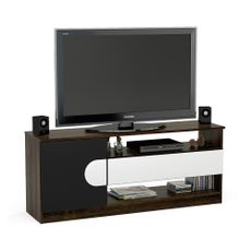 Rack-AMBER-para-Tv-55---color-Tabaco-Negro-Politorno-1-9187