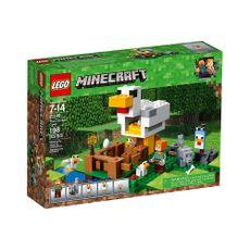 Minecraft-El-Gallinero-21140-Lego-1-9789
