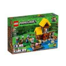 Minecraft-La-Cabaña-de-la-Granja-21144-Lego-1-9793