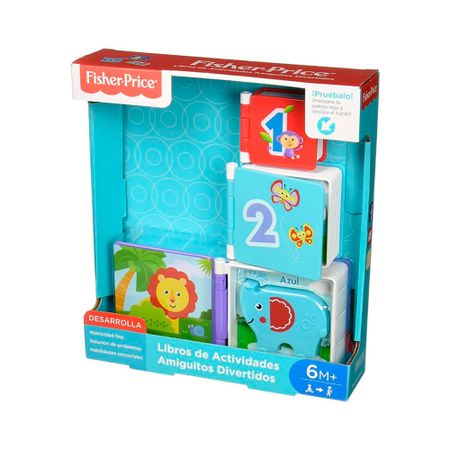 fb22d3bbe Libro de Actividades Fisher Price FJB02 MATTEL - multicenter