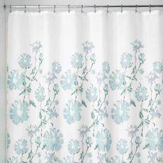 Cortina-de-ducha-de-tela-Azalea-color-azul-verde-1-10319