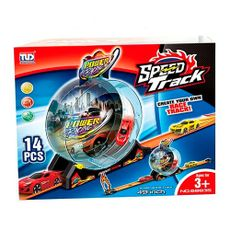 Pista-de-Carrera-360G-con-1-Auto-14-Piezas-Track-Racing-1-10980