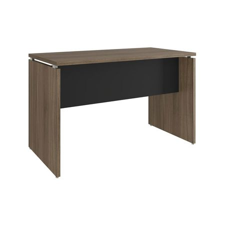 Mesa para Oficina color Nogueira/Negro Mobitec - multicenter