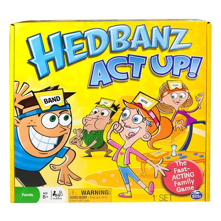 Juego Hedbanz Act Up Multicenter