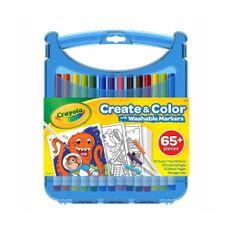 Estuche-Crea-y-Colorea-Super-Tips-Travel-Art--65-piezas-Crayola-1-12334