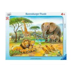 Rompecabezas-Mundo-Animal-Africano-30-48PZAS-Ravensburger-1-13601
