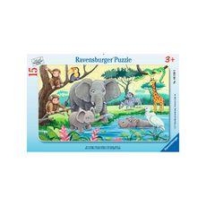 Rompecabezas-animales-de-Africa-15PZAS-Ravensburger-1-14187