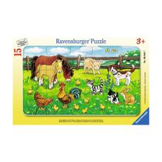 Rompecabezas-Animales-de-Granja-en-el-prado-15PZAS-Ravensgurger-1-14189
