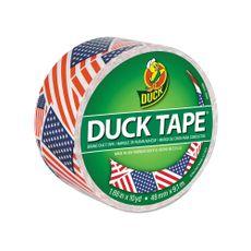 Cinta-adhesiva-estampada-48cm-x-9m-US-Flag-Duck-1-14820