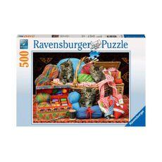 Puzzle-Gatos-en-los-Tejidos-500pz-14785-Ravensburger-1-15610