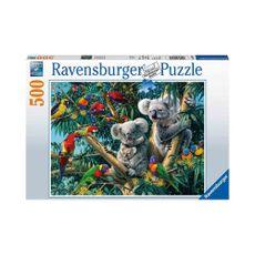 Puzzle-Koalas-en-el-Arbol-500pz-14826-Ravensburger-1-15611