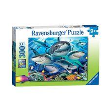 Puzzle-Tiburones-Sonrientes-300pz-XXL-13225-Ravensburger-1-15621