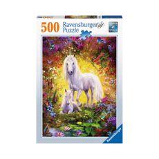 Puzzle-Unicornios-en-el-Bosque-500pz-14825-Ravensburger-1-15614