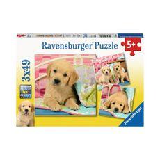 Perritos-Lindos-3x49pzas-Ravensburger-1-16209