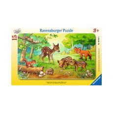 Animales-Bebes-del-Bosque-15pzas-Ravensburger-1-16189