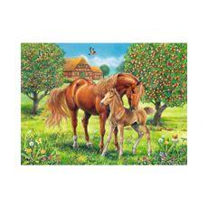Puzzle-Caballos-en-el-Campo-100pzas-XXL-1-16985