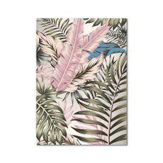 Cuadro-diseño-Hojas-Pink-Tropic-100x140cm-1-19745