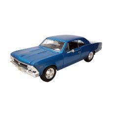 Maisto-1-24-Chevrolet-Chevelle-SS-396-color-Azul-1-19874