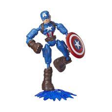 Marvel-Avengers-Figura-de-acci-n-de-Captain-America-Bend-and-Flex-1-22300