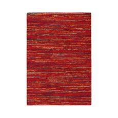 Alfombra-Sherpa-Roja-Con-Lineas-De-Colores-120x170cm-1-22471