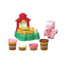 Play-Doh-animal-crew-Pigsley-y-sus-cerditos-en-el-lodo-1-23250