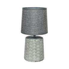 L-mpara-de-Mesa-cer-mica-tela-gris-40w-E14-1-25415