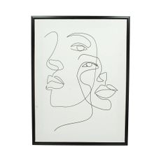 Cuadro-dos-Rostros-Perfil-Canvas-Negro-45x60cm-1-29115